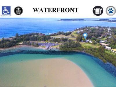 Photo for Waterfront Mossy Point Escape - Pet Friendly, Disabled Access, WIFI Inc.