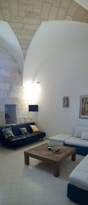Photo for Gagliano del Capo - Holiday house in the old town with great outdoor courtyard