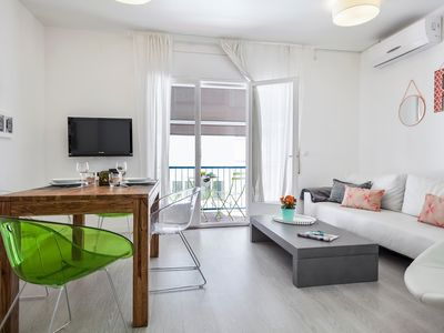 Photo for In the center of Sitges with Internet, Air conditioning, Balcony (647298)
