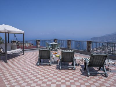 Photo for Villa Caruso - Stunning sea view