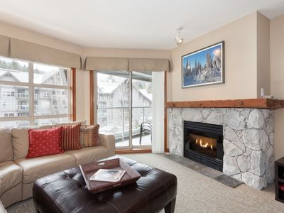 Photo for Fabulous 1 bedroom at the Aspens Ski in /Ski out  on Blackcomb Whistler