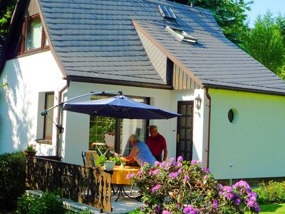 Photo for Cosy, detached holiday home in the Ore Mountains with terrace and garden