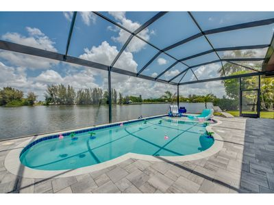 Photo for Roelens Vacations - Villa Lake Kennedy - Cape Coral, Fl
