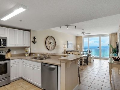 Photo for Newly renovated 6th Floor Gulf Front Plus Ticket to GulfWorld Wifi ! Sleeps 9! Majestic