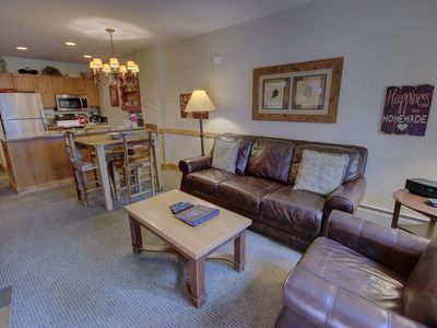 Photo for You will love this one bedroom at the Springs! The Springs is just about 100 yards from the gondola and the center of River Run Village plus it has the best outdoor pool in Keystone.