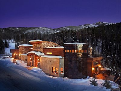 Photo for Incredible Ski-in & Out Modern Mountain Luxury Home, Theater & Indoor Court!