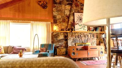 Photo for Welcome to Sherwood Cabin - a charming, secluded Time Capsule w modern comforts