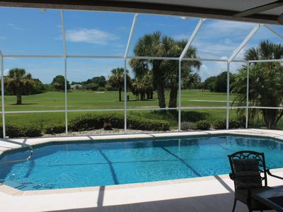 Photo for Fabulous remodeled Villa with stunning golf course view at the end of cul-de-sac
