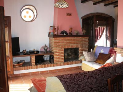 Photo for Beautiful restored house in central Alora with spectacular views from private