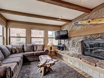 Photo for Hang Out on the Large Private Deck and Enjoy Close Proximity to Town and Shuttle