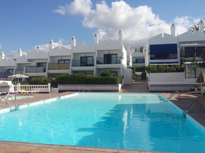 Photo for Bungalow in San Bartolomé de Tirajana with Internet, Pool, Air conditioning, Parking (707043)
