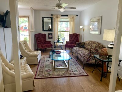 Photo for Oasis2 near DFW airport with Mediterranean setting