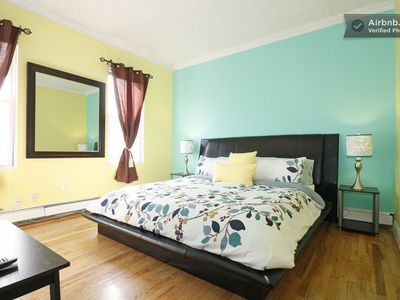 Photo for Cute 1 Bedroom Apartment 10 Minutes (by Bus/runs 24 Hrs) From Times Square Area
