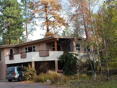 Photo for Secluded Yet Close To Everything. Quiet Park Setting. Walk Or Bike To Downtown.