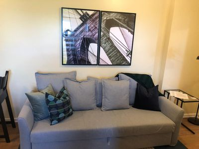 Photo for 1715 5E · Classy and Cute 2b Apt/20 min to NYC-Parking Avail
