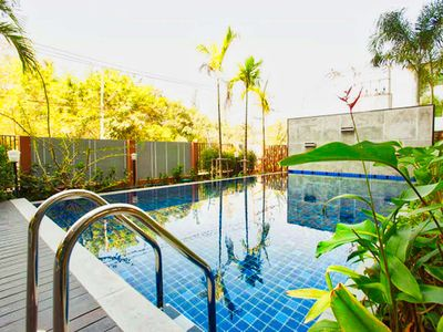 Photo for Pool View 4 person near Old City (free pool/gym/wifi)