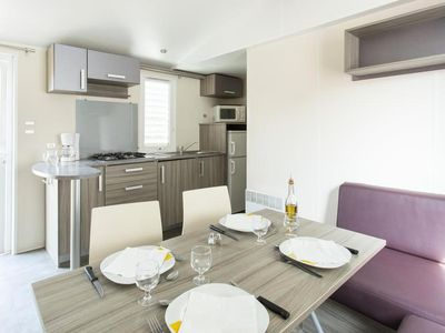 Photo for Village Club Le Kangourou - Mobile Home 3 Rooms 4/6 People