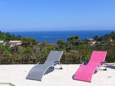 Photo for 3 bedroom Villa, sleeps 6 in Saint-Peïre-sur-Mer with Pool, Air Con and WiFi