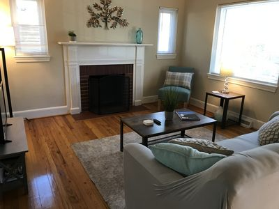 Photo for Spacious 2 BR -1.5 mi from Duke Hospital/University*Dog Friendly*Fenced backyard