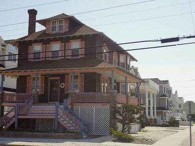 Photo for Classic LARGE Victorian shore home | Sleeps 14 | 5 houses from beach