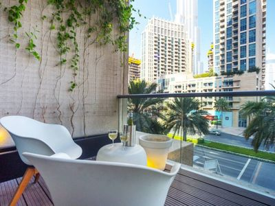 Photo for Luxury stay at the Loft Downtown Dubai