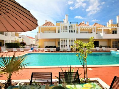Photo for Cabanas Beach -  2 bedroom  ground floor apartment in front of swimming pool.