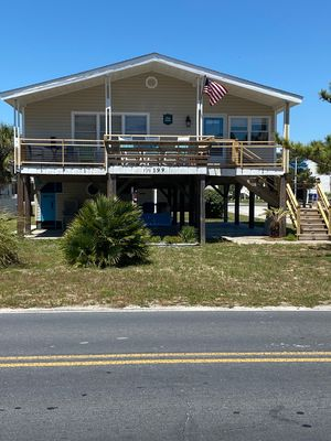 Photo for PET FRIENDLY 65 steps to ocean! Directly across the steet from beach access.