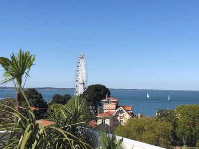 Photo for Appt of Exception -Last Floor -View Sea 180 ° City Center / Beach-Garage-WIFI.