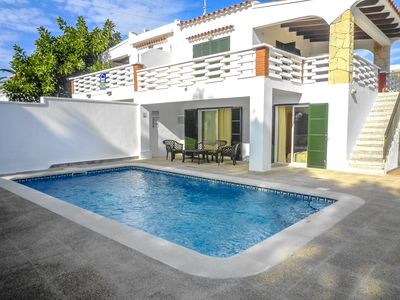Photo for Catalunya Casas: VIlla Gato for 6 people, only 200m from Menorca's beautiful beaches!