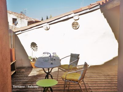 Photo for Southern France holiday home | lovely roof terrace | near the sea