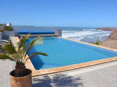 Photo for Exceptional Villa Overlooking the Beach