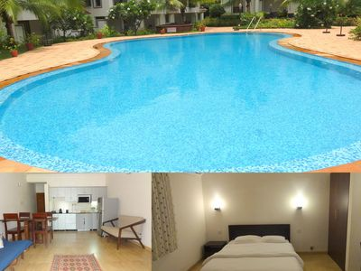 Photo for 46) Serviced Apartment Sleeps 4 in Arpora