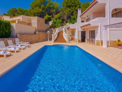 Photo for 4 bedroom Villa, sleeps 8 in La Fustera with Pool, Air Con and WiFi