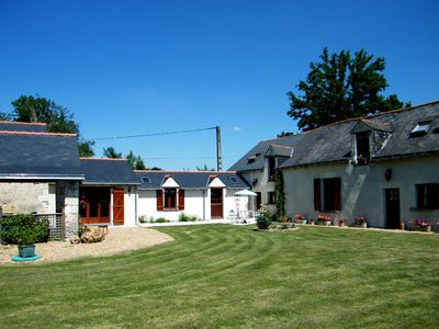 Photo for 3 bedroom gite in idyllic rural location