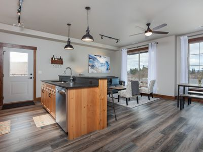 Photo for Beautiful Mountain Modern Penthouse Near Glacier National Park