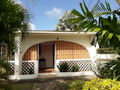 Photo for Golden Dream Apartment #1. Cosy 1 bedroom apartment in Sunset Crest, Holetown.