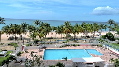 Photo for Your New Oceanfront Dream Apartment At Isla Verde Beach!