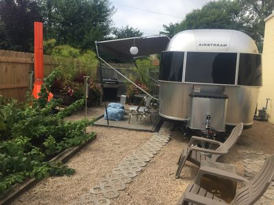 Photo for Cozy Airstream-2 free espresso drinks daily from Twister+2 Kayaks