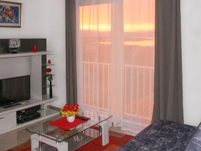 Photo for Apartments for 2 persons with Panoramic Sea view, WiFi, Air, Parking