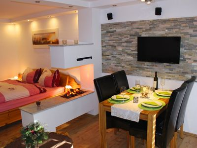 Photo for sunny holiday flat for 2 persons (max. 3) in Laax - central site