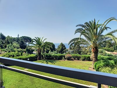 Photo for 255L PAY - Grande terrasse, jolie vue mer, piscin - Apartment for 2 people in Cannes