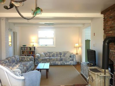 Photo for Beautiful, Bright Retreat - Short Stroll to Beach, Village + Harbor!
