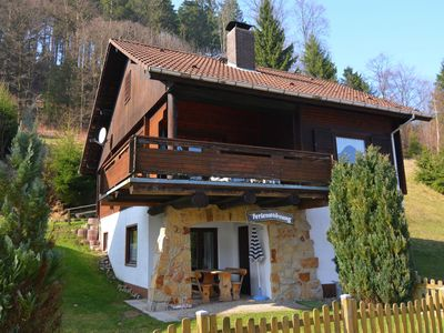 Photo for Apartment in the beautiful Harz region with covered terrace