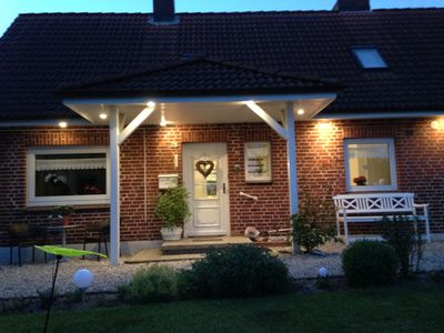 Photo for Holiday home Landlust on the Baltic coast in the Hohwacht Bay 3 km to the beach