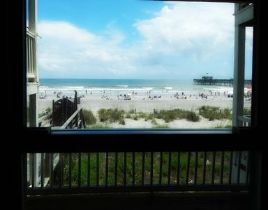 Ocean view from your living space window