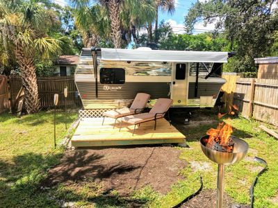 Photo for Cool Retro Trailer Minutes from Downtown St.Pete