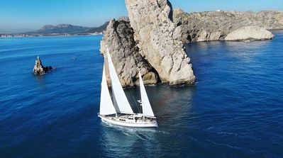 Photo for All-inclusive OVERNIGHT SAILING TRIP,  crewed charter with chef on-board.