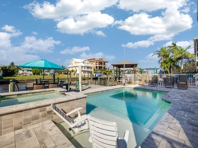 Photo for Dockside Dream UPPER Amazingly Beautiful 2 Br Upper Suite NEW Pool & Raised Spa