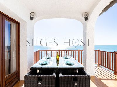 Photo for Sitges Casa del Mar - Incredible sea views