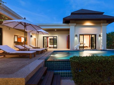 Photo for Perfect Break 2BR Pool Villa at Baan-Bua, Phuket Beach